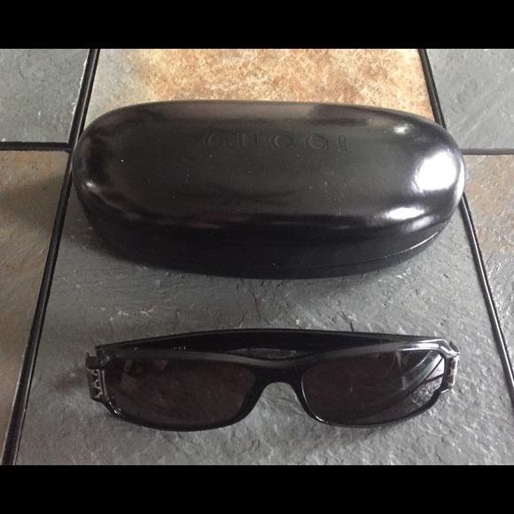 2df81ffb6da Gucci Other - Gucci Sunglasses Black Case Sun Glasses Vintage